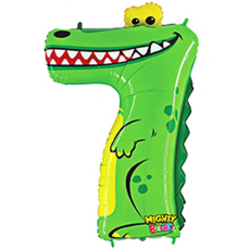 Number 7 - crocodile