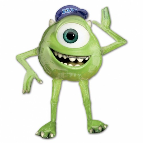 Monsters University AirWalkers Mike Foil Balloon