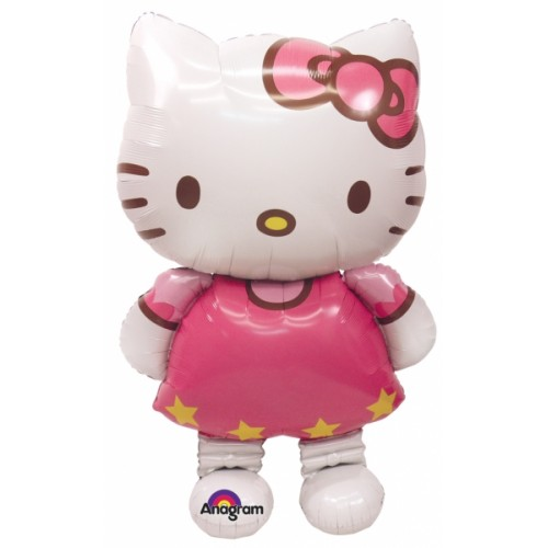 Hello Kitty AirWalkers Foil Balloon