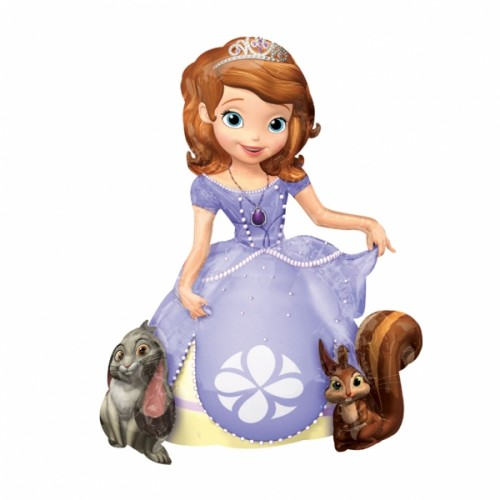 Sofia The First - AirWalkers Foil Balloons