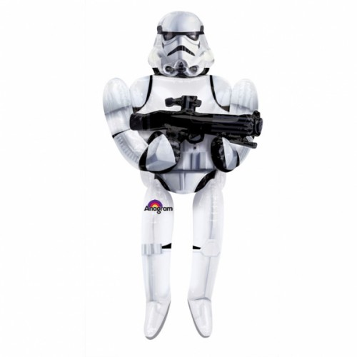 Star Wars Storm Trooper AirWalkers Foil Balloons - P93 5 PC