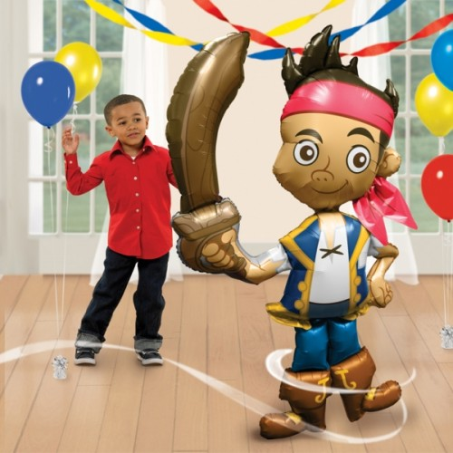Jake & The Neverland Pirates - AirWalker Foil Balloons